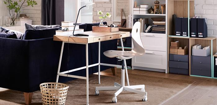 Mesa despacho diseo mesa de despacho negra y blanca muebles de despacho de diseo nueva serie de - Ikea mesas de escritorio ...