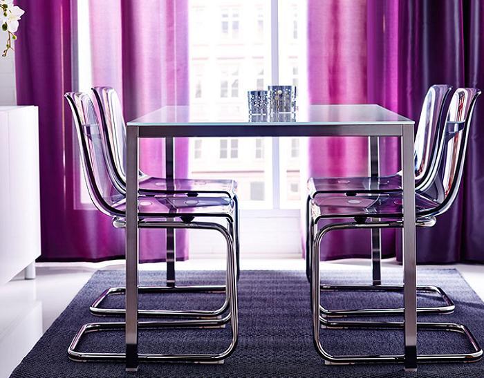5 mesas de cristal Ikea para el comedor y salón que valen la pena ...