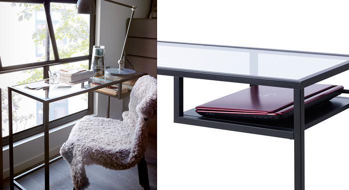 mesa escritorio de cristal ikea escritorio cristal ikea