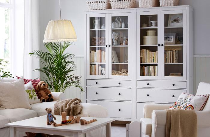 Muebles salon rusticos ikea 20170809065855 for Muebles hemnes ikea