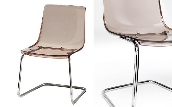 sillas de cristal ikea