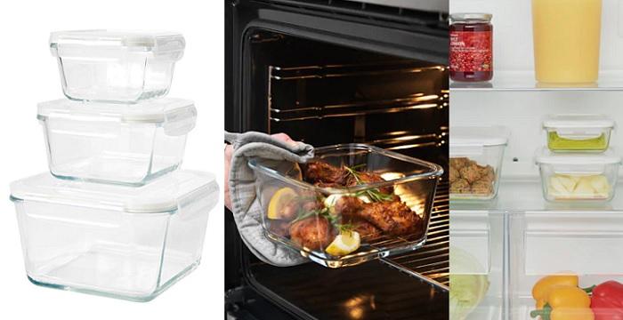 Tuppers ikea de cocina para microondas de cristal - Ikea botes cocina ...