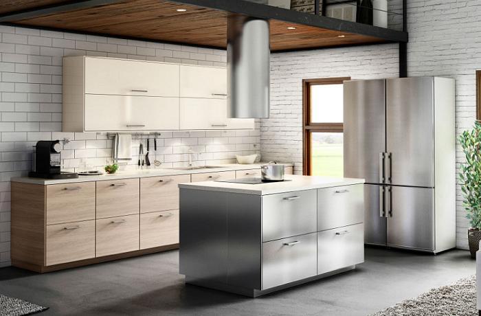 cocinas con isla ikea de diseño