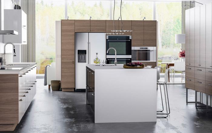 ... de las mejores cocinas con isla Ikea: modernas, blancas, ru00fasticas