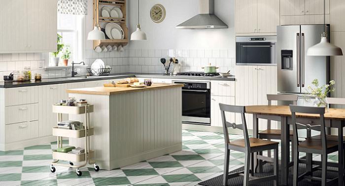 Fotos de las mejores cocinas con isla ikea modernas for Cocinas rusticas ikea