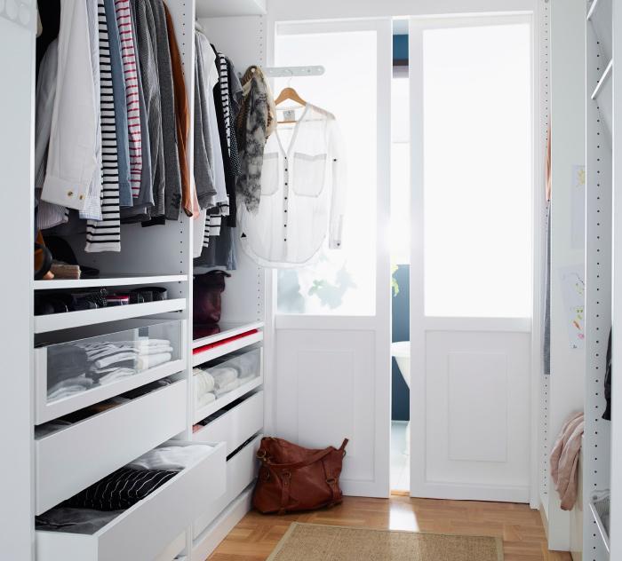 Cómo hacer un vestidor con Ikea: moderno, barato y a medida ...