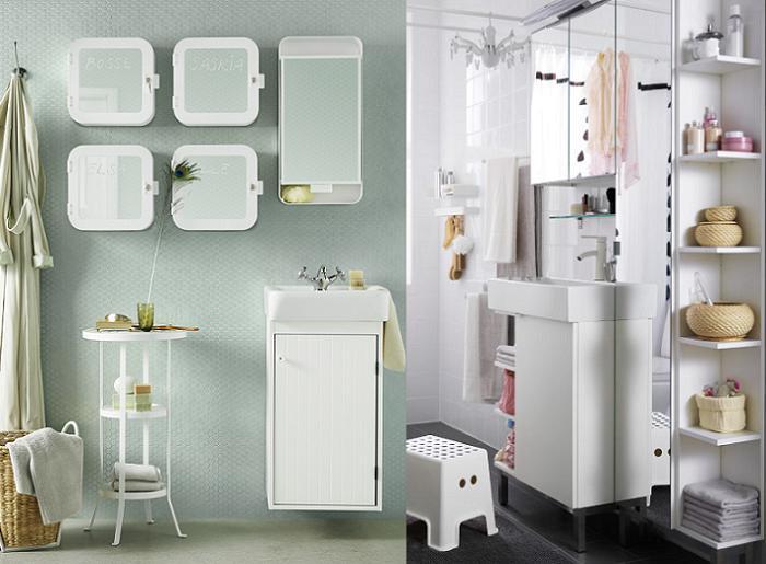 Imagenes De Los Baños Mas Bonitos:Las fotos más inspiradoras de cuartos de baño Ikea: modernos