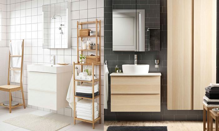 cuartos de baño ikea escandinavo