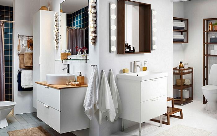 cuartos de baño ikea modernos