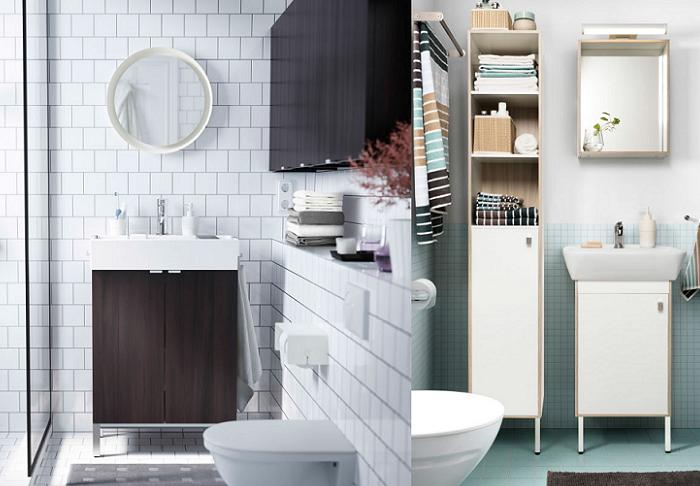 cuartos de baño ikea pequeños