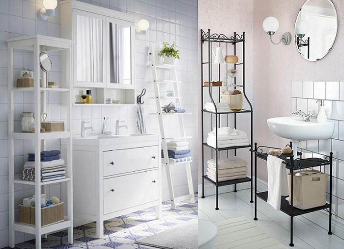 cuartos de baño ikea rusticos