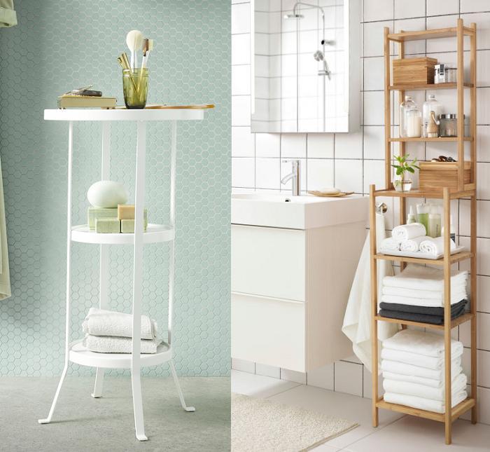 Estanterias para ba os pequenos - Ikea muebles auxiliares de bano ...