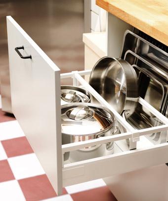 Ikea cajones cocina caja de cubiertos bandeja blanco - Ikea organizador cocina ...