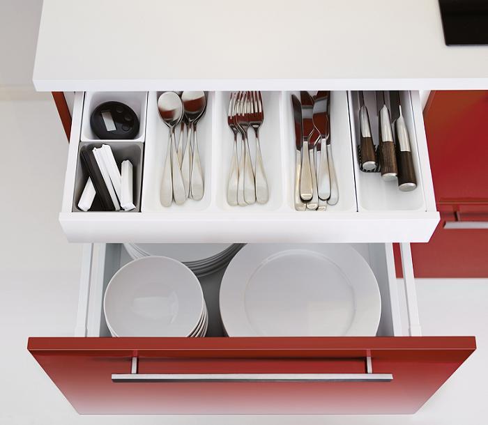 organizadores Ikea de cajones cocina