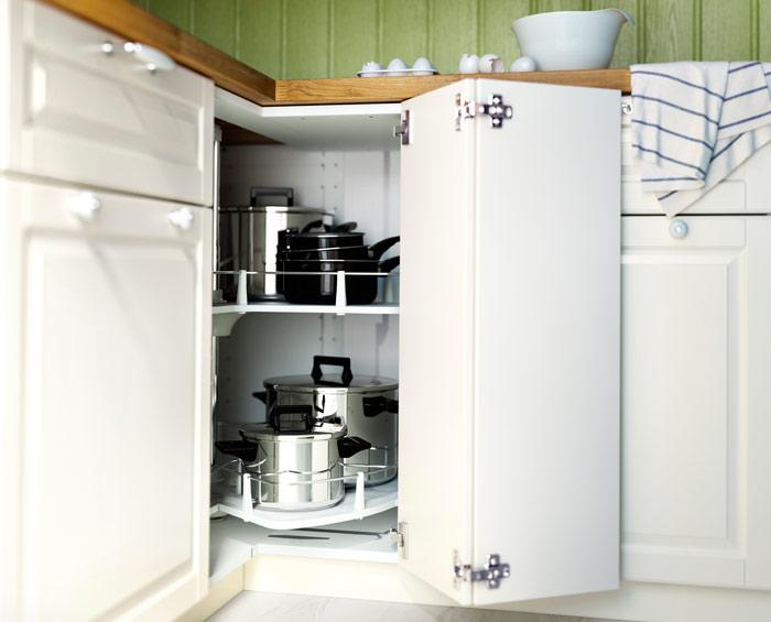 Asombroso Ikea Cocina Esquina Dimensiones Del Gabinete Ornamento ...