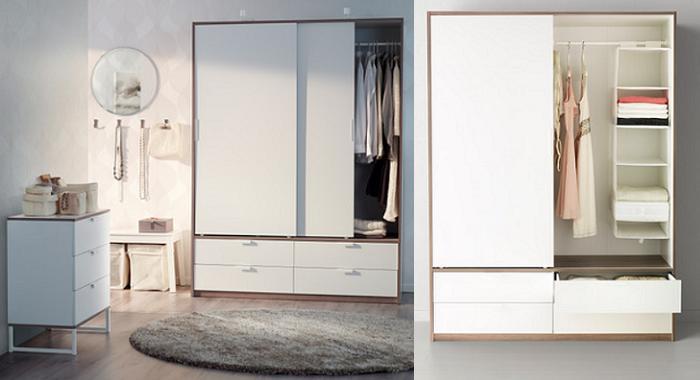 Trysil un dormitorio ikea muy juvenil moderno y barato for Armarios bonitos y baratos