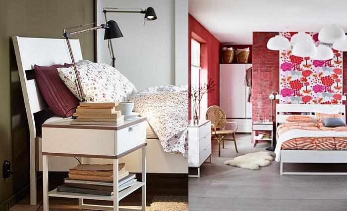 trysil cama dormitorio ikea moderno