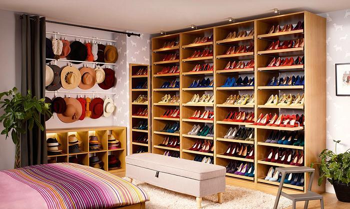 Ideas vestidor ikea for Armario para zapatos