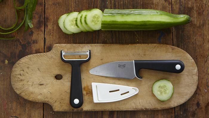 accesorios de cocina ikea cuchillo de chef pelador