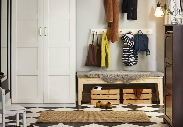 Bancos de madera ikea norn s mueblesueco for Bancos de madera ikea