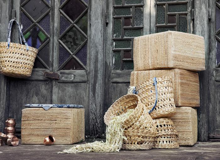 coleccion HEMTRAKT ikea cestas