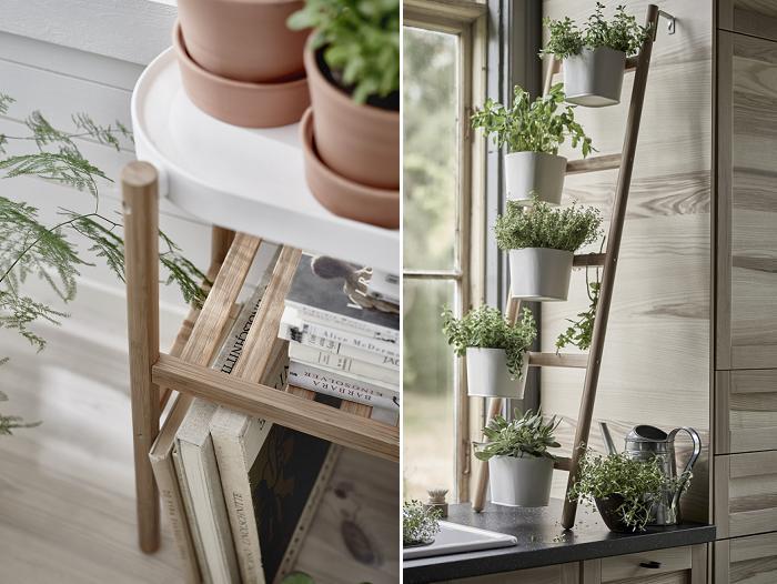 Maceteros ikea satsumas soportes modernos para plantas for Estanteria plantas interior