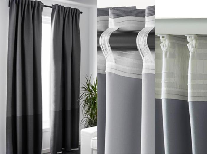 cortinas ikea salon MARJUN