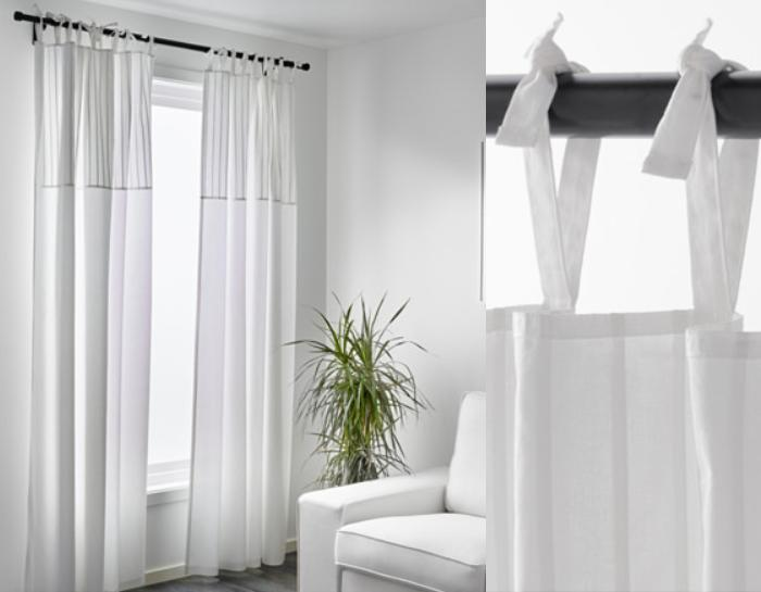 Pin bonitas cortinas on pinterest for Cortinas de salon ikea