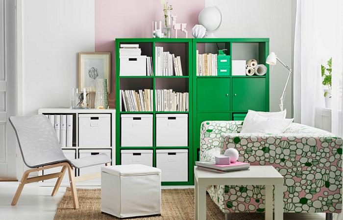 Estanteria kallax ikea ideas para decorar mueblesueco - Ideas para estanterias ...