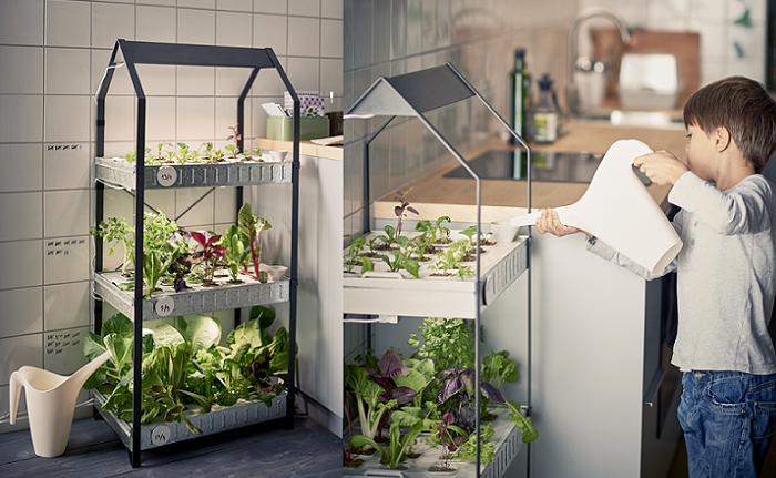 indoor gardening ikea huerto casero