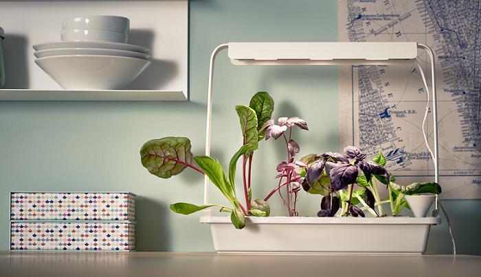 indoor gardening ikea un huerto urbano con invernaderos