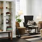 vitrinas baratas y bonitas de ikea para salon