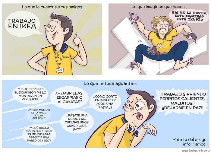 20 años ikea humor Anabel Rivero