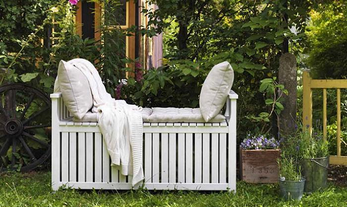 bancos de jardin baul ÄNGSÖ