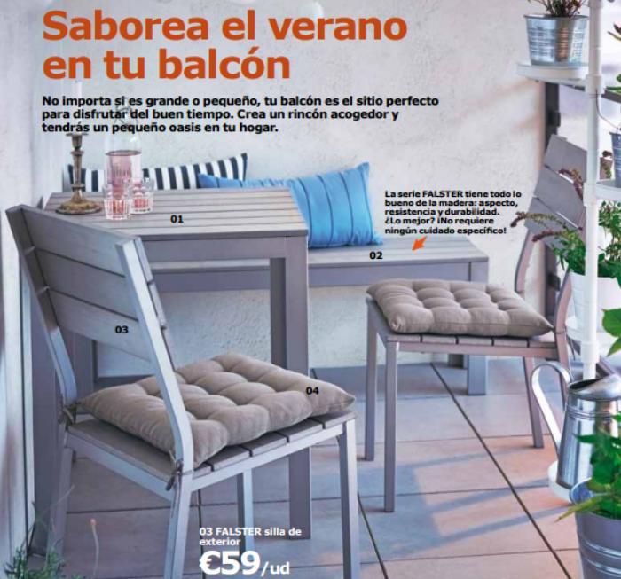 Catalogo ikea jardin 2016 balcones peque os mueblesueco for Ikea jardin catalogo