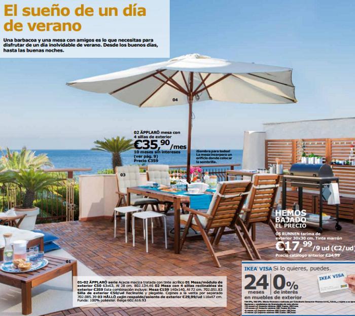 Catalogo ikea jardin 2016 comedor exterior mueblesueco - Ikea jardin catalogo ...