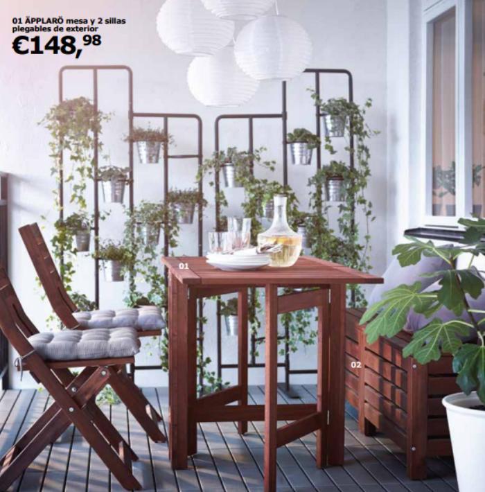 catalogo ikea jardin 2016 muebles applaro
