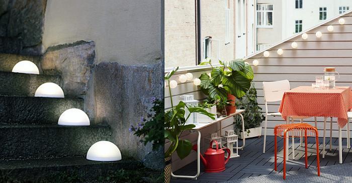 Guirnaldas lamparas exteriores ikea mueblesueco for Lamparas exterior ikea