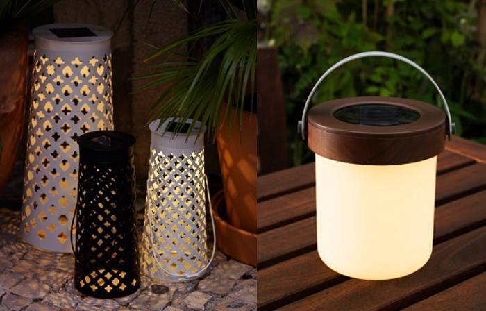 Farol solar para jardines y exteriores luz solar victsing for Luces led jardin ikea