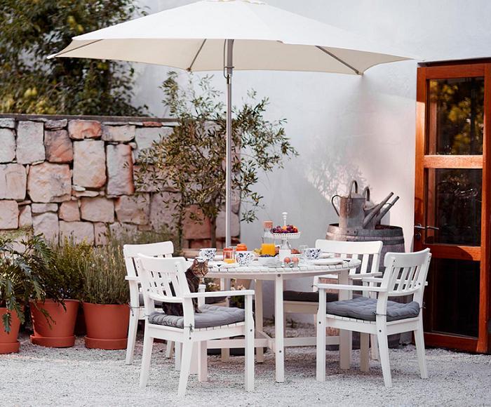 mesas de jardin ikea angso