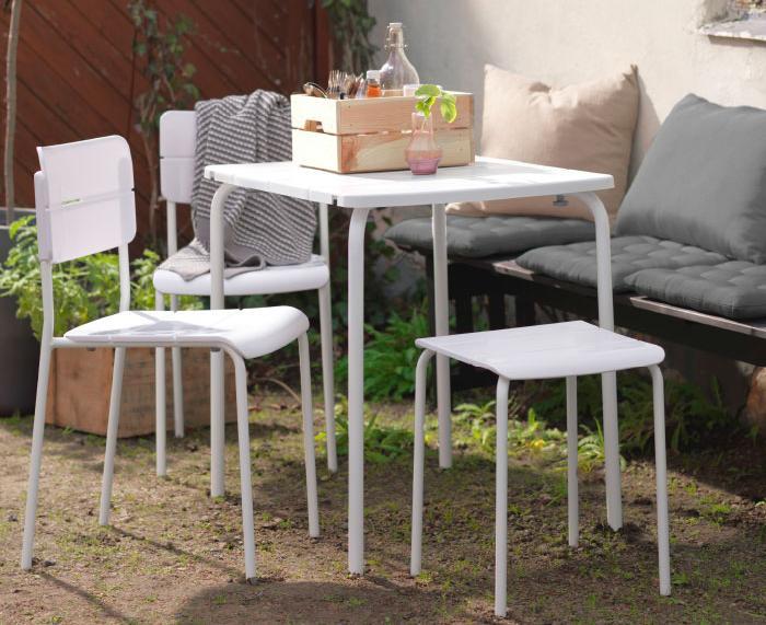 Mesas de jardin ikea baratas mueblesueco for Mesas jardin baratas