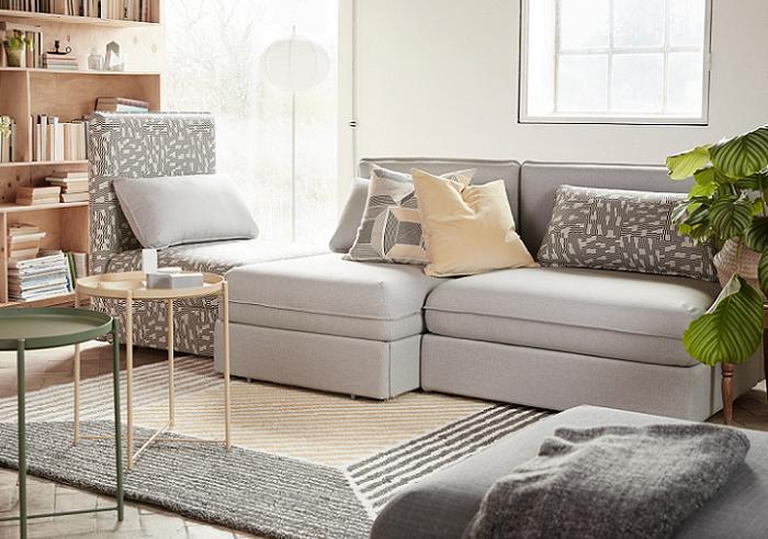 vallentuna sofa modular ikea
