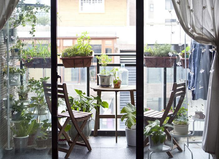 decoracion terraza pequeñas ikea 2016