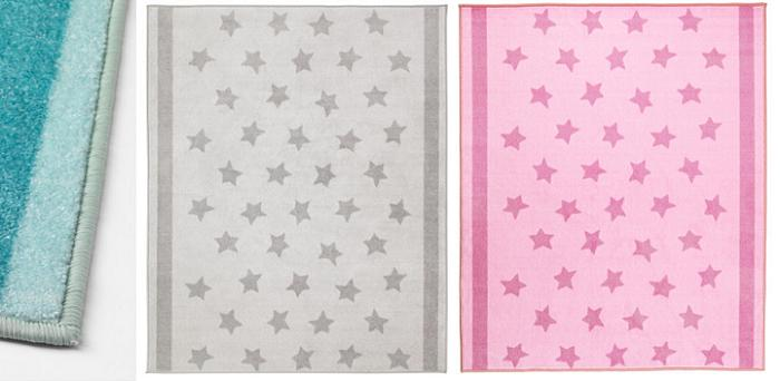 textiles ikea para bebes himmelsk alfombras estrellas