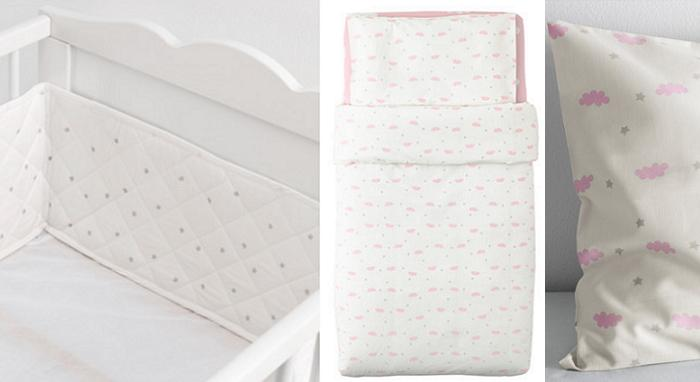 textiles ikea para bebes himmelsk chichonera ropa cunas