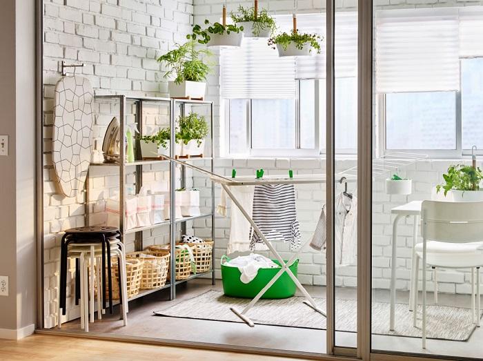 Siete ideas para organizar tu lavadero ikea: un cuarto para lavar ...
