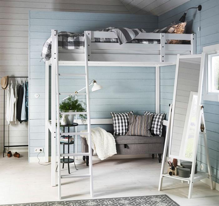 muebles juveniles ikea camas altas
