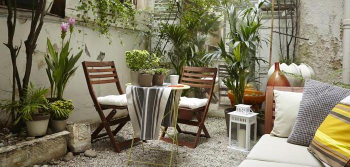 sillas de exterior ikea para decorar terrazas