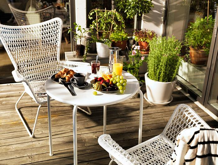 Sillas de exterior ikea para decorar terrazas plegables - Sillon para exterior ...