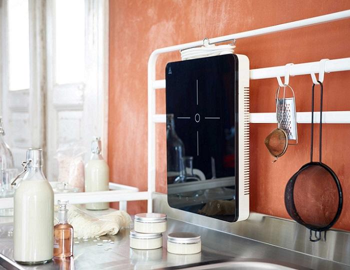 cocina ikea sunnersta placa de induccion portatil tillreda